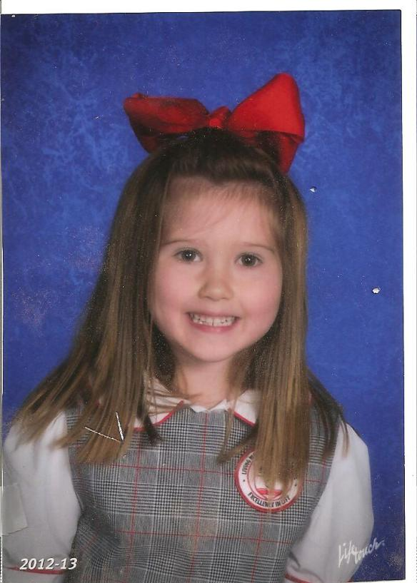 Jordyn's school picture