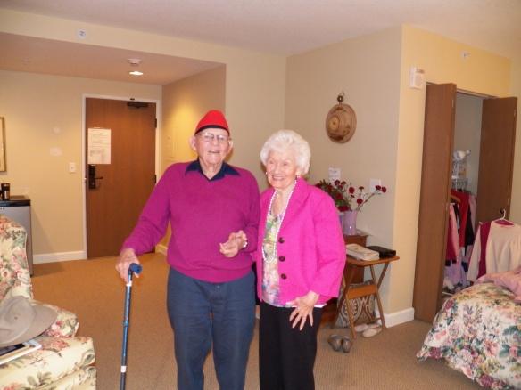 Jim (95) and mom (88) last summer in Denver.
