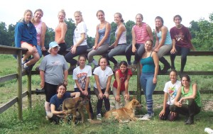 Lauren's camp with Dianne in 2005.  Who can name everyone in the picture?