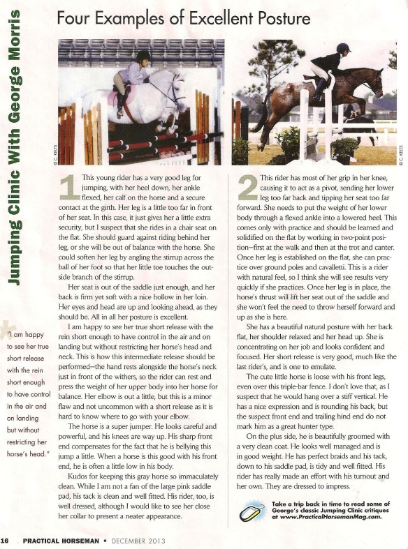 December, 2013 Practical Horseman
