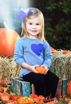 Kendyll's first official (pre)school photo at 28 months.