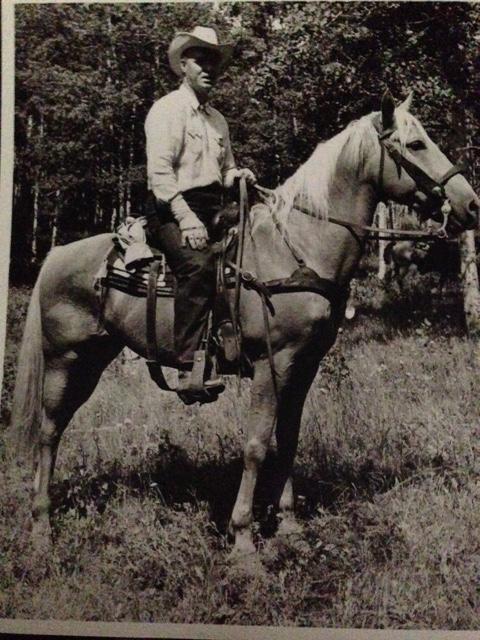 My daddy-my first Cowboy love!