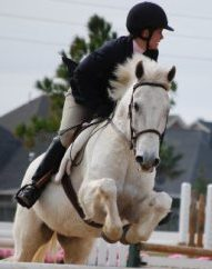 """Lauren and Snow at an """"A"""" show. Look at those knees!"""